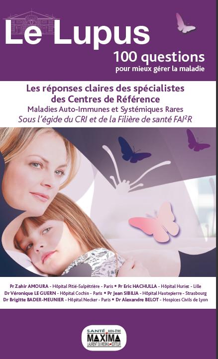 Nouvelle version du livre : Lupus, 100 questions