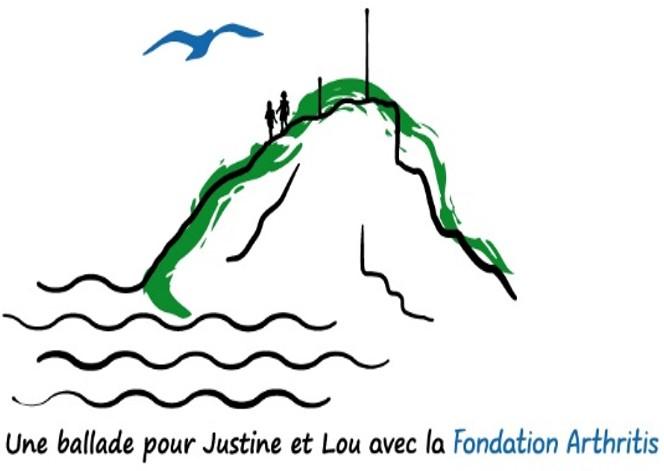 « Une ballade pour Justine et Lou avec la Fondation Arthritis»