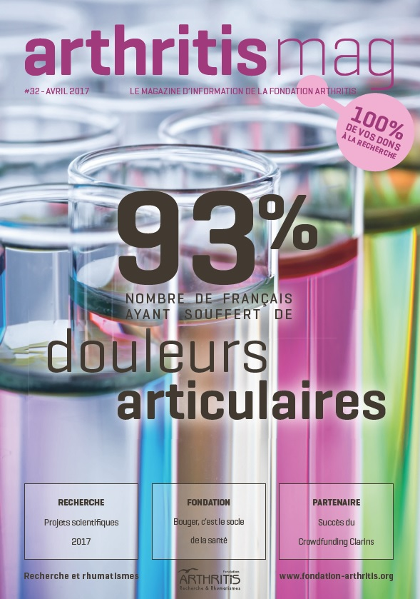 Arthritis Mag #32 – Avril 2017