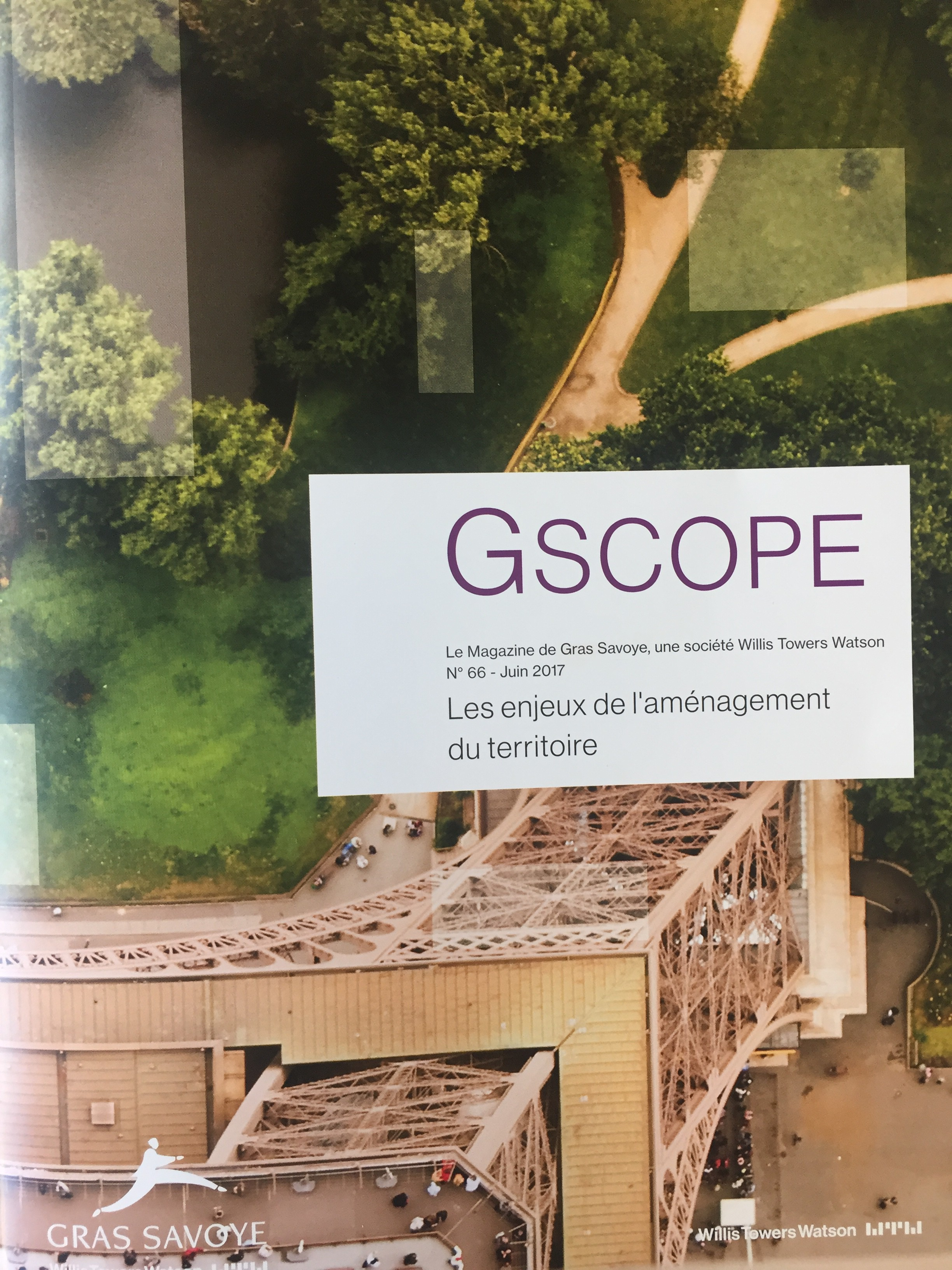 Interview de Lionel Comole dans le Gscope