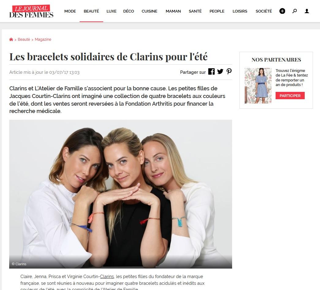 La Fondation dans le Journal des Femmes