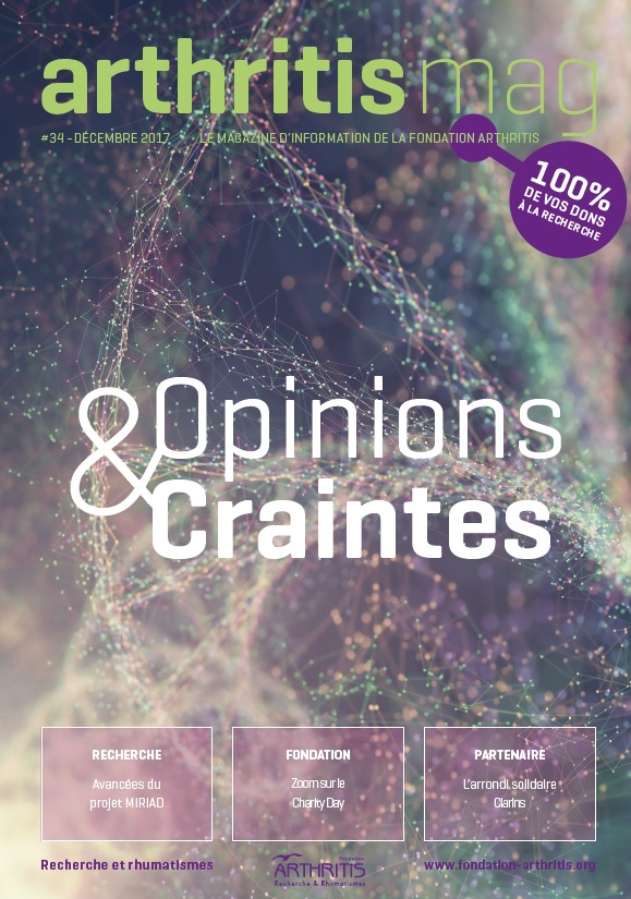 Arthritis Mag #34 – Décembre 2017