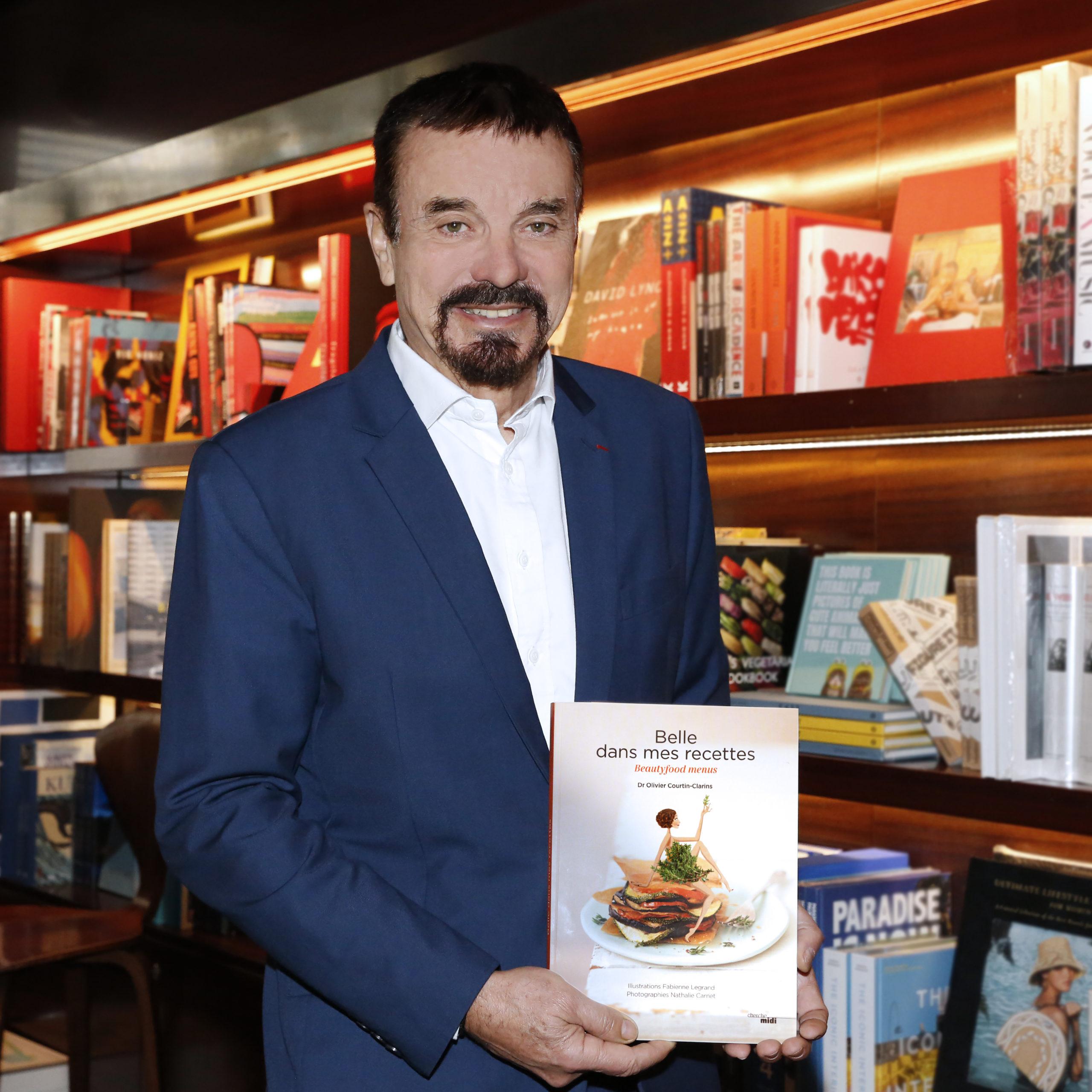 Sortie du livre «Belle dans mes recettes» du Dr Olivier Courtin-Clarins